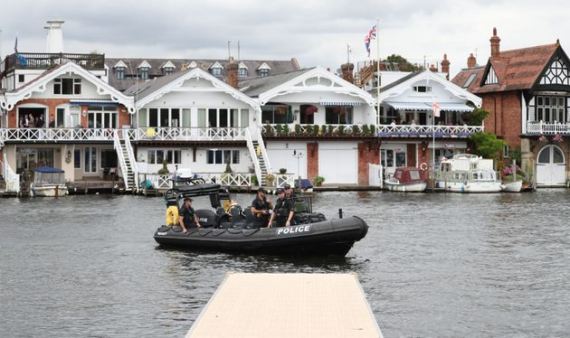 Woman raped by three men after Henley Regatta party