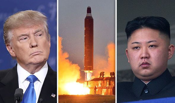 Trump weighs 'pretty severe things' for North Korea over launch