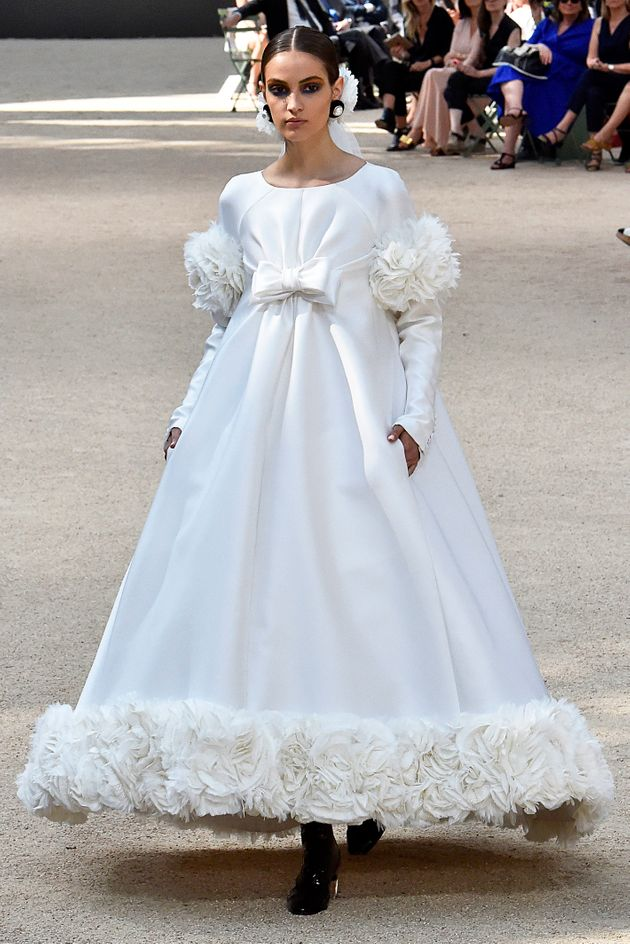Haute Couture The Wedding Dresses Dreams Are Made Of From Dior Elie Saab And Chanel