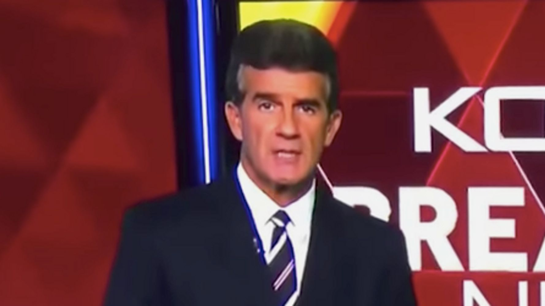 News Anchor Doug Fernandez Throws Up Papers In Disgust After Tech
