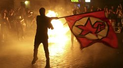 Burnt-Out Cars, Zombie Marches And Violent Clashes As Protests Surround G20