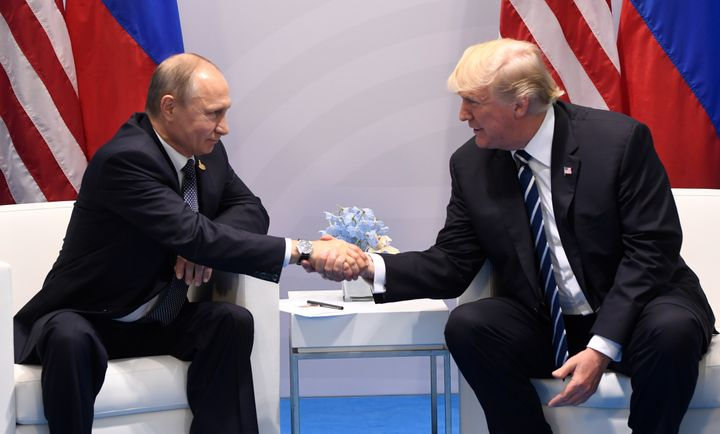 Image result for donald trump and putin