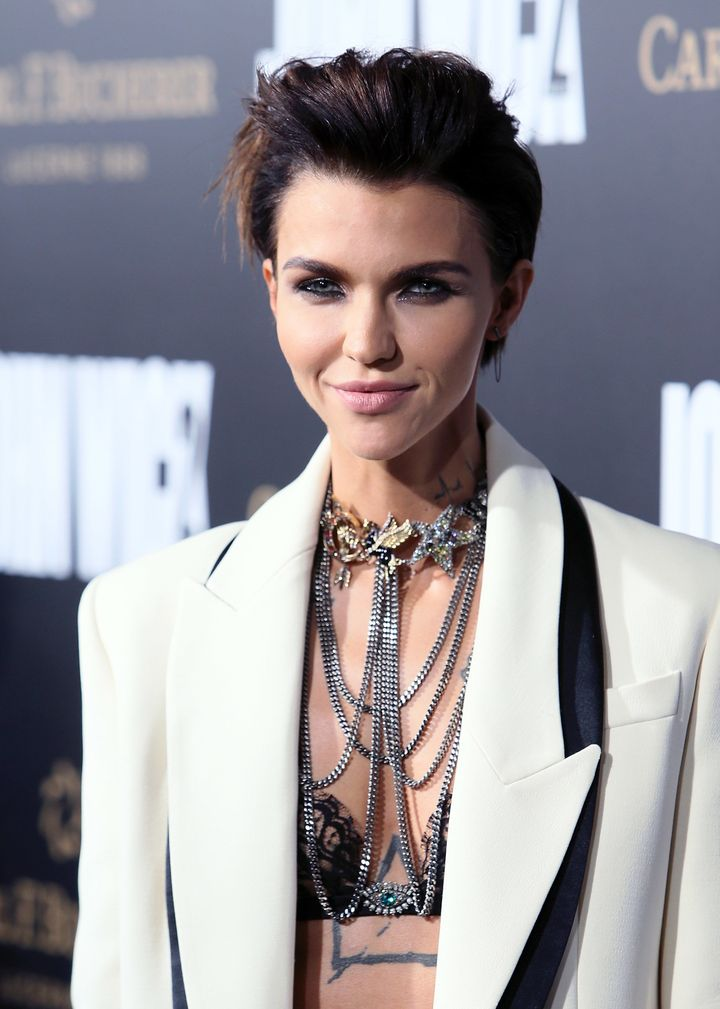 "Rose, who has been open about her attempts to<a href=""https://twitter.com/rubyrose/status/724392344146055169?lang=en"" ta"
