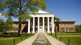 OXFORD, MS - APRIL 12:   The Lyceum, oldest building on the campus of the University of Mississippi on April 12, 2008 in Oxford, Mississippi.  (Photo by Wesley Hitt/Getty Images)