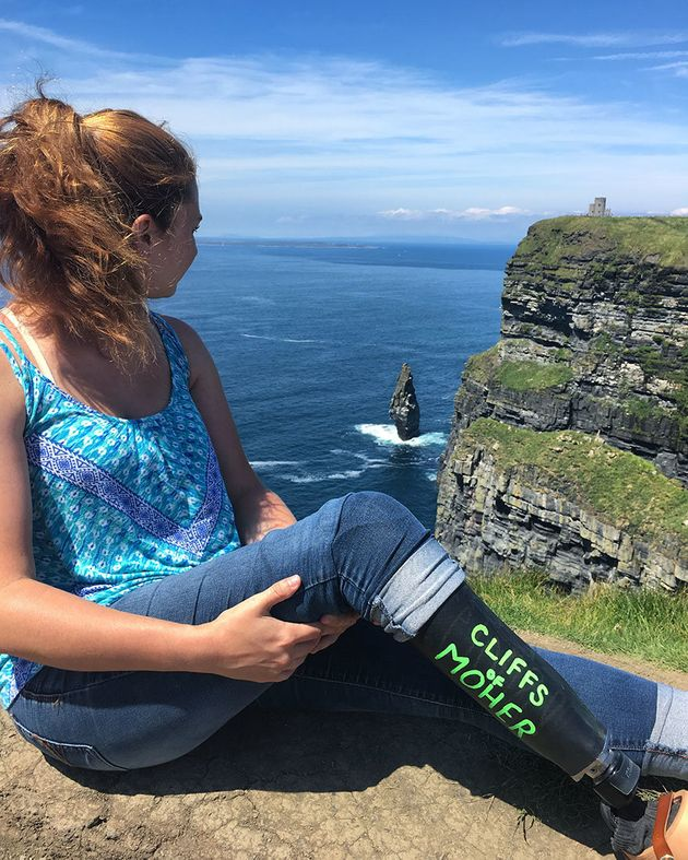 Gallagheratthe Cliffs of Moher in County Clare,