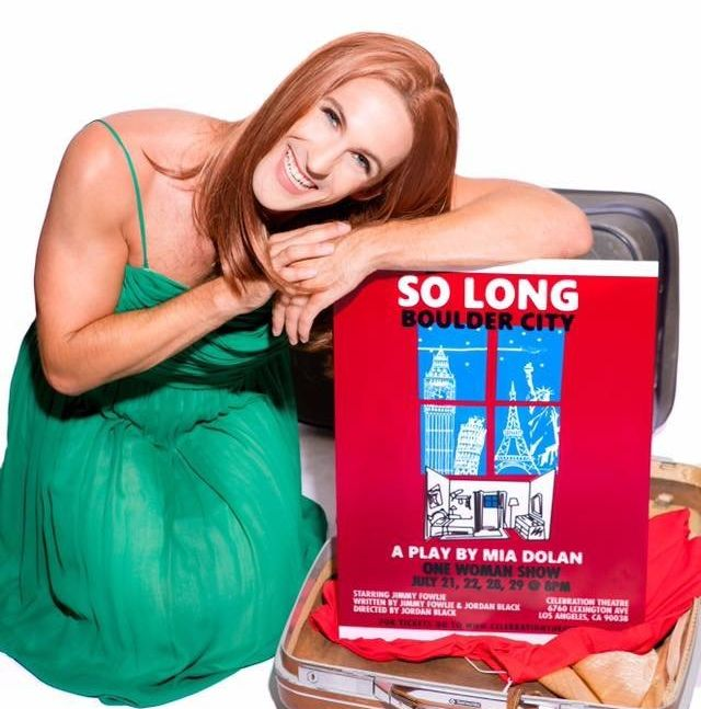 """Jimmy Fowlie stars in """"So Long, Boulder City,"""" a drag spoof of Emma Stone's one-woman """"La La Land"""" play in Los Angeles."""