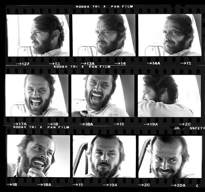Jack Nicholson, Montana, 1976.
