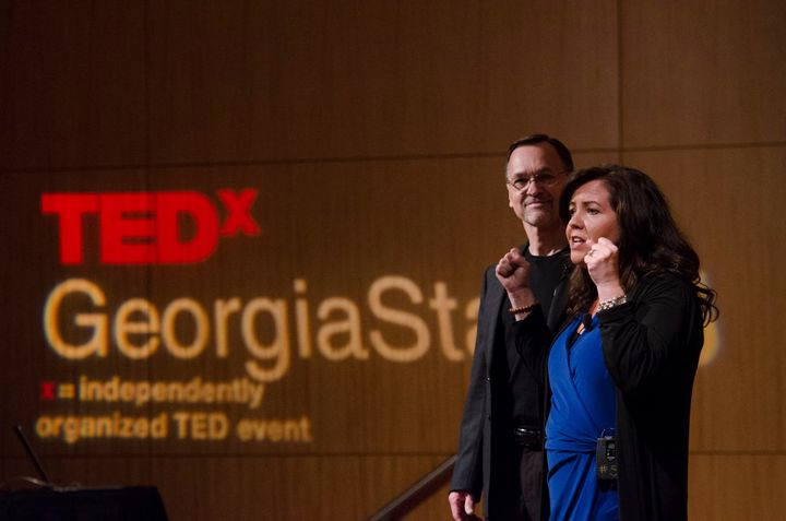 <p>Angela Buttimer and Dennis Buttimer- TEDx 2017</p>