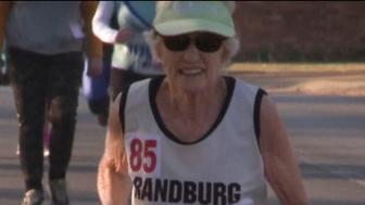 Deirdre Larkin completed her first race at 78 years old