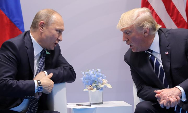 Donald Trump met with Vladimir Putin at the G-20 summit in Hamburg, Germany, on Friday and Redditors couldn't resist reimagin