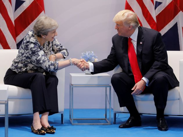 May and Trump early on