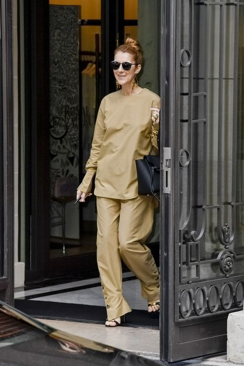 Smile, you're wearing Celine! The star loves the Parisian brand with the same name as her.