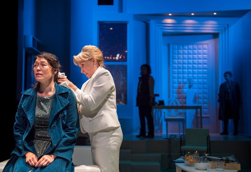 Mia Tagano (Genevieve) and Lorri Holt (Micheleine) in a scene from <strong><em>Splendour</em></strong>