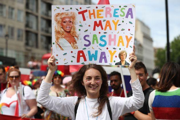 London Pride Makes Feelings About DUP Abundantly