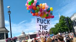 London Pride Makes Feelings About DUP Abundantly