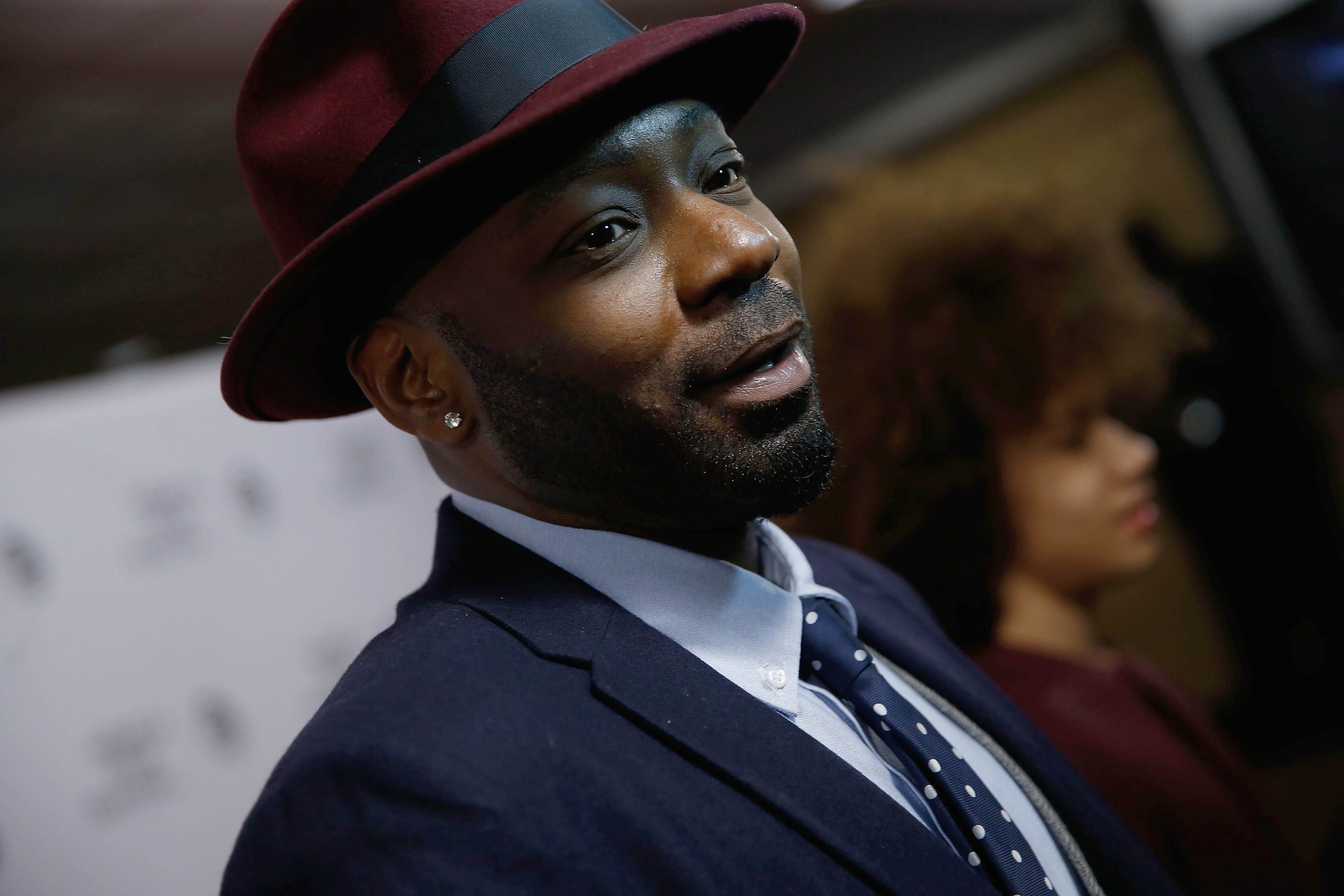NEW YORK, NY - APRIL 15:  Nelsan Ellis attends 'Little Boxes' Premiere during the 2016 Tribeca Film Festival at Chelsea Bow Tie Cinemas on April 15, 2016 in New York City.  (Photo by John Lamparski/WireImage)