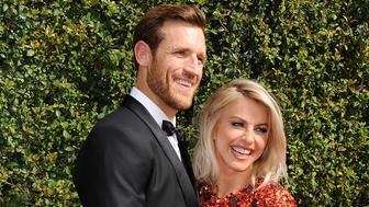LOS ANGELES, CA - SEPTEMBER 12:  Brooks Laich and Julianne Hough attend the 2015 Creative Arts Emmy Awards at Microsoft Theater on September 12, 2015 in Los Angeles, California.  (Photo by Jason LaVeris/FilmMagic)