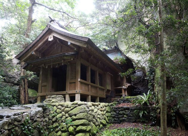 One of the shrines on Okinoshima island in Japan is a new UNESCO World Heritage