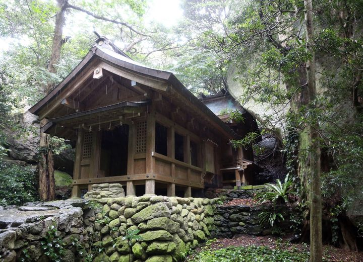One of the shrines on Okinoshima island in Japan is a new UNESCO World Heritage Site.