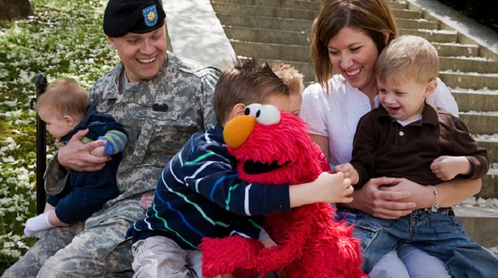 Sesame Street is committed to helping military families. To learn more about their resources, visit www.SesameStreetforMilita