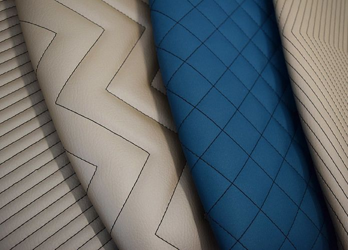 National stitching detail new at NeoCon 2017