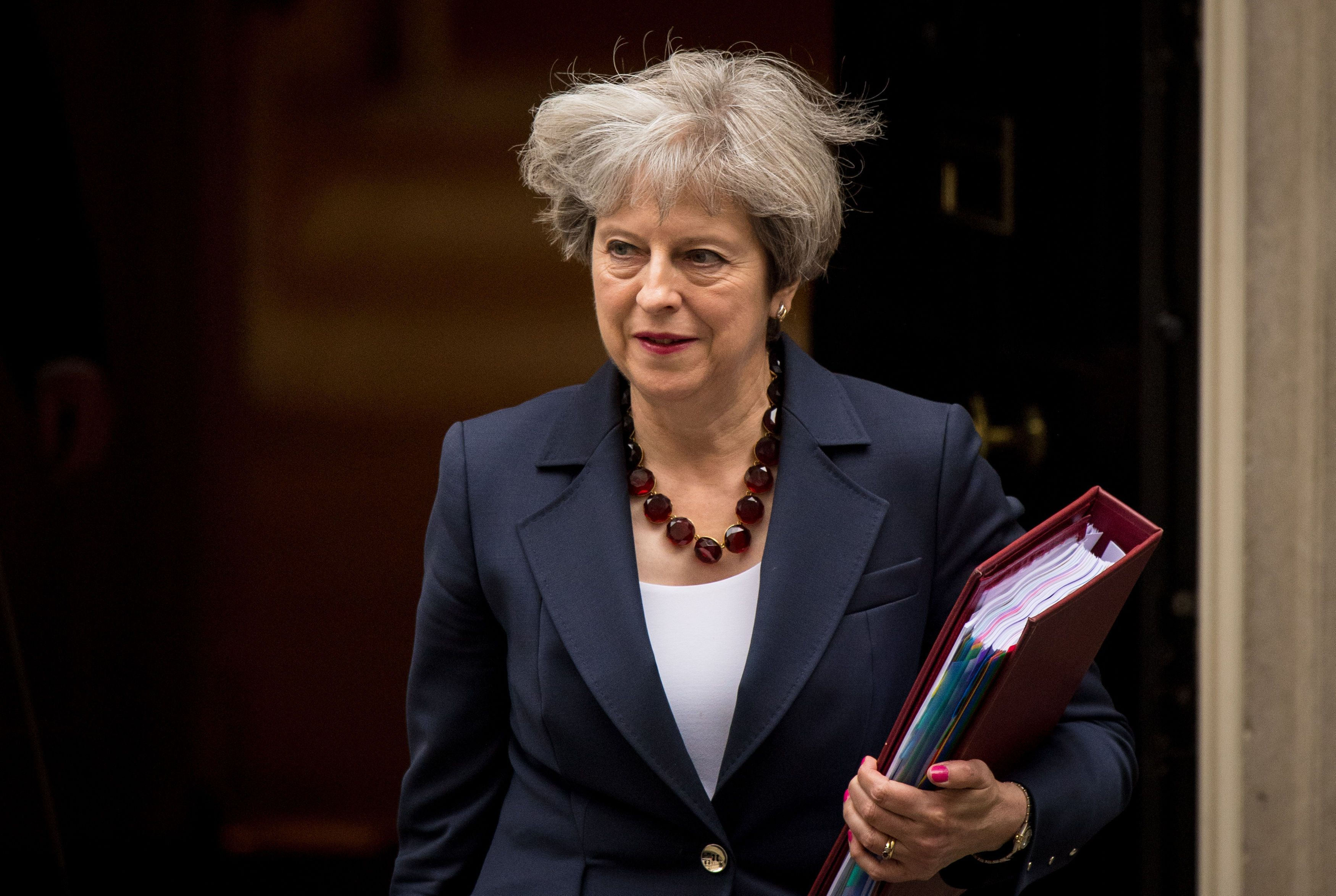 Theresa May Accused Of Failing 'Just About Managing' Families In First Year As