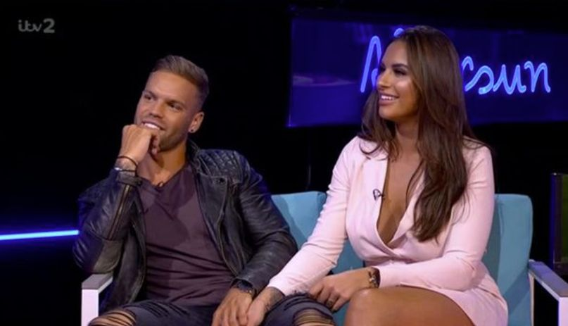 'Love Island' Couple Jess And Dom Reveal They're Taking Romance To Next