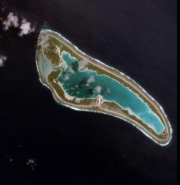 Nikumaroro Island in the southwestern Pacific republic of