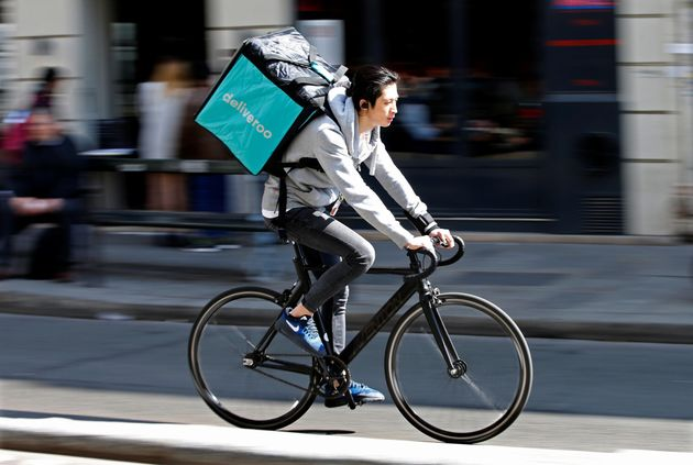 Food app Deliveroo has become emblematic of problems within Britain's'gig