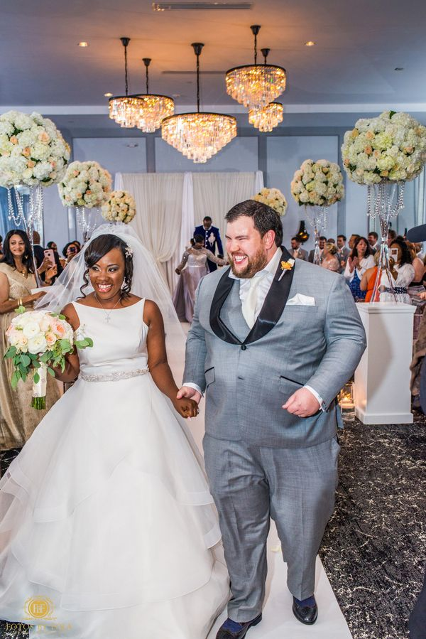 """Justus was the happiest man in the world after tying the knot with the love of his life. Congrats to Lily and Justus!"" --&nb"