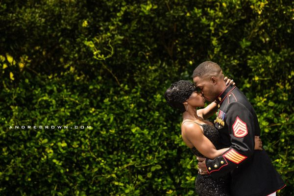 """South Carolina bride Nakita surprises her Marine Corps veteran fiancé with a wedding on the 4th of July."" -- <i>"