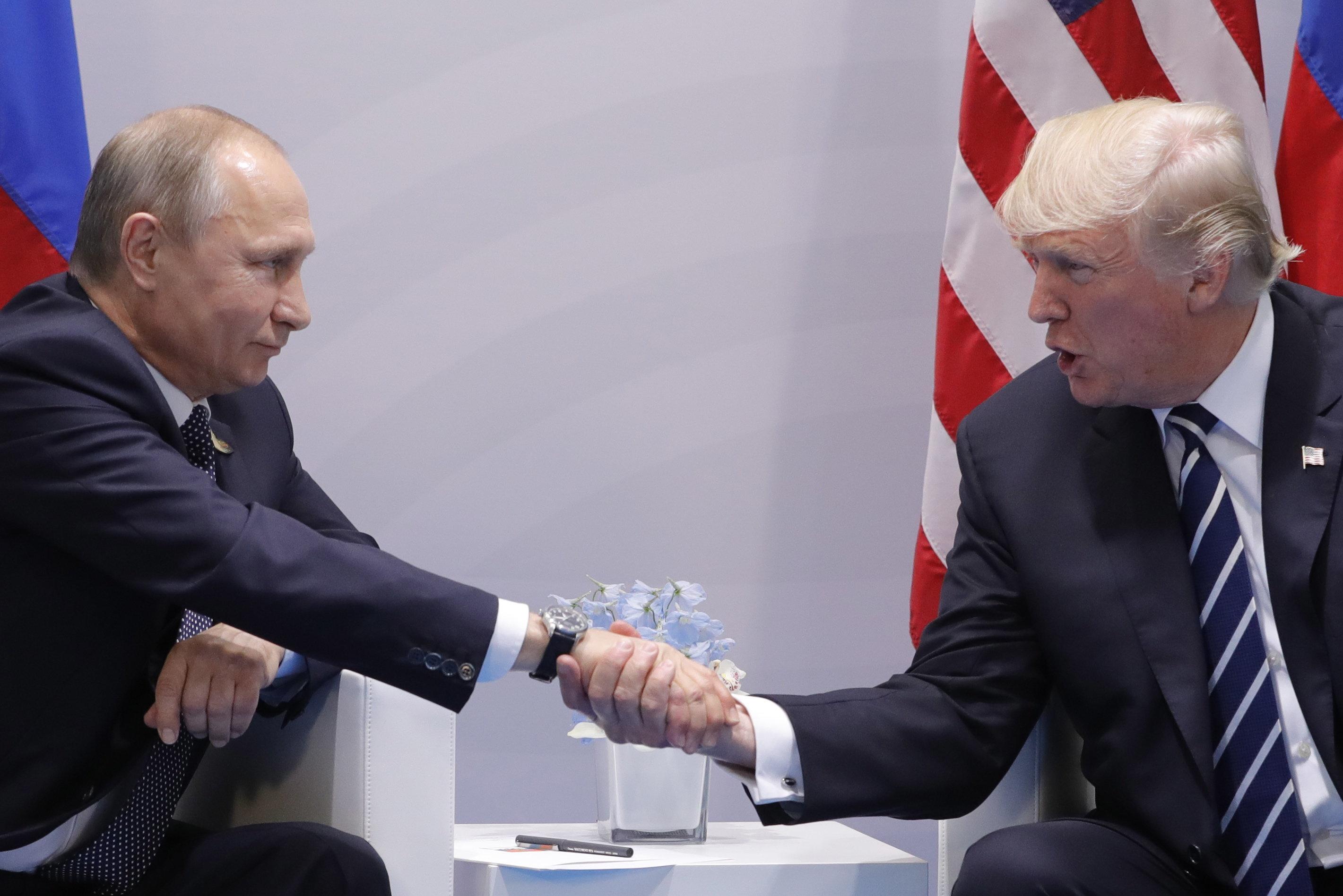 Putin and I will form