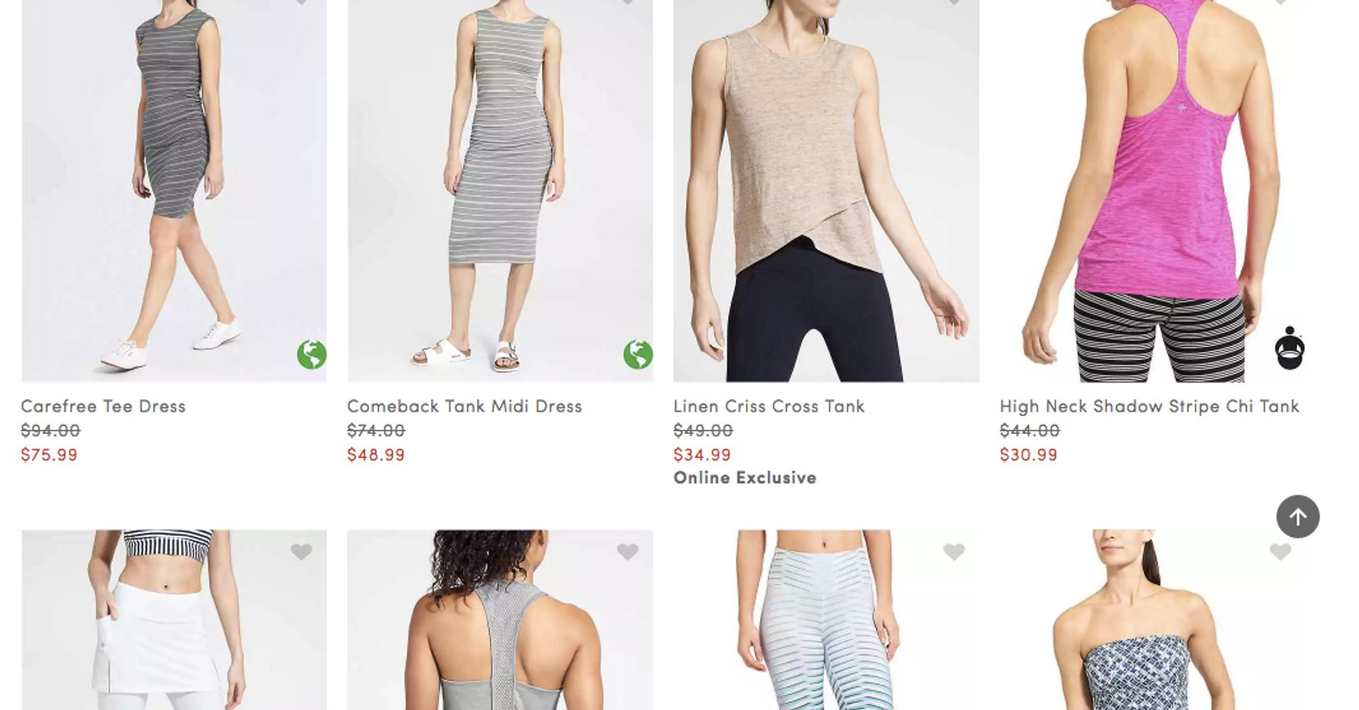 97d2d2ea2d Athleta Vows 'Meaningful' Change After Being Called Out For Showing Plus  Clothes On Straight-Size Models | HuffPost Life