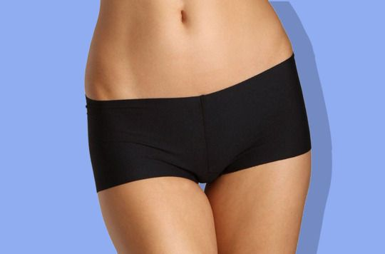 Boy shorts that disappear under your clothes.