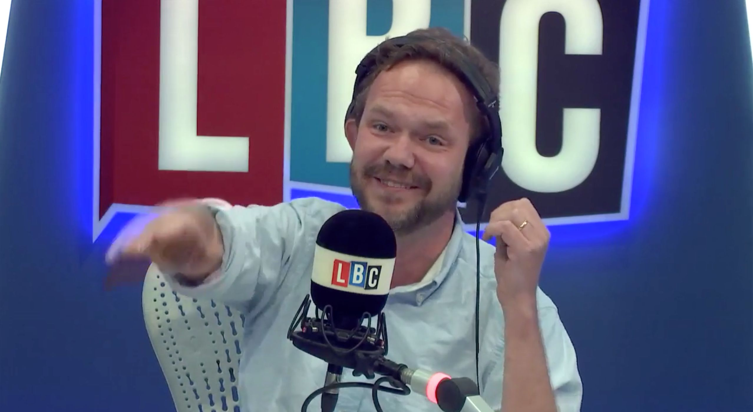 James O'Brien Calmly Demolishes Leave Voter During Hilariously Mind-Blowing