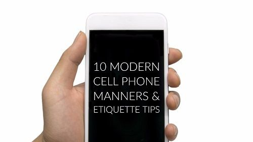 Business phone call etiquette in dating