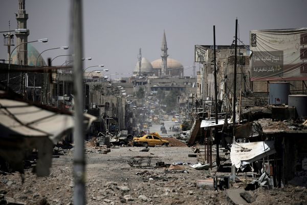 A view of a part of western Mosul on May 29, 2017.