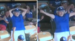 Jumbotron 'Granny' Flashes Stadium Because Life Is For