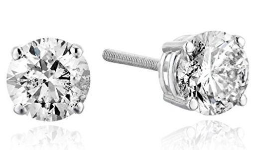 "<strong><a href=""https://www.amazon.com/White-Diamond-Screw-Earrings-Clarity/dp/B071F7C699?tag=thehuffingtop-20"" target=""_bla"