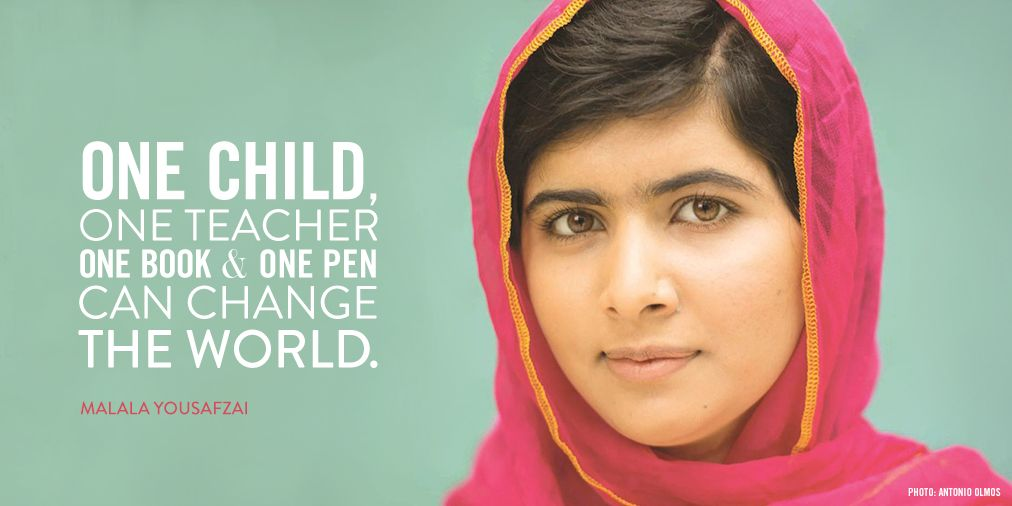 A very happy birthday & 'Malala Day', Malala!