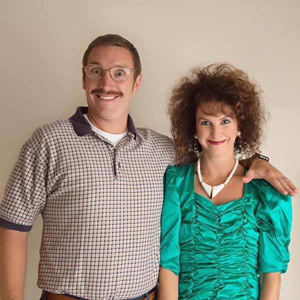 You Have To See This Married Couple's Gloriously '80s