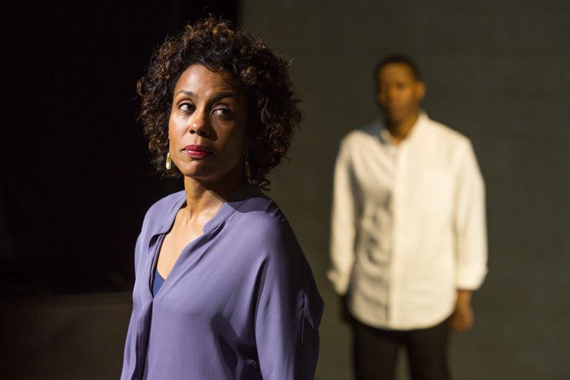 Karen Pittman and Namir Smallwood in Dominique Morisseau's <em>Pipeline</em>
