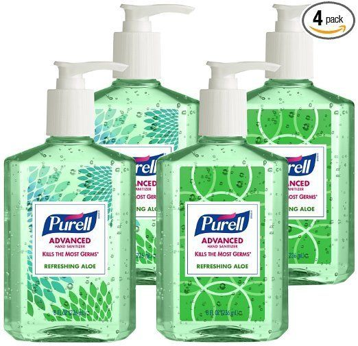 Get a four-packof Purell Advanced Hand Sanitizeron Prime Day for30% off.