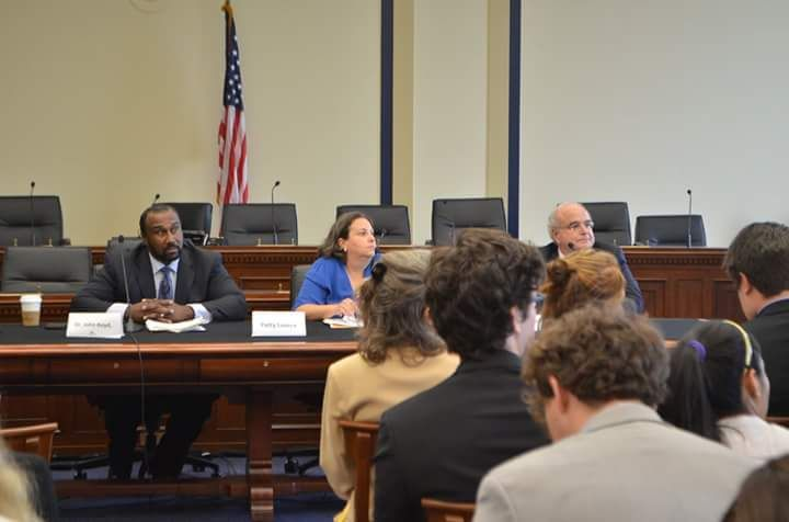 John Boyd Speaks at the Bayer Monsanto Legislative briefing at the House of Representatives Rayburn Building