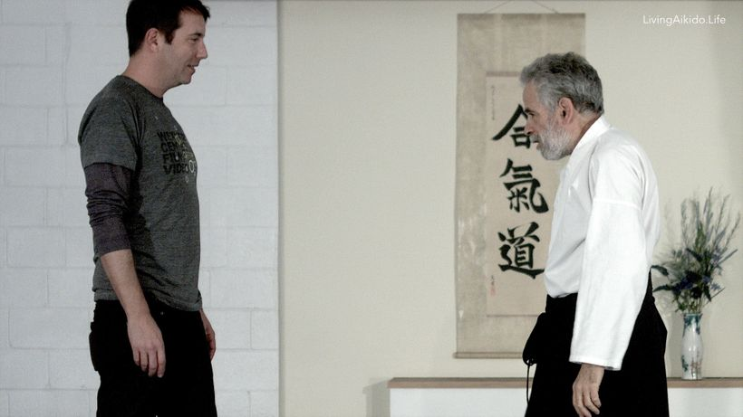 "In <a rel=""nofollow"" href=""http://livingaikido.life/"" target=""_blank"">Living Aikido Life</a>, Paul Linden Sensei is about to"