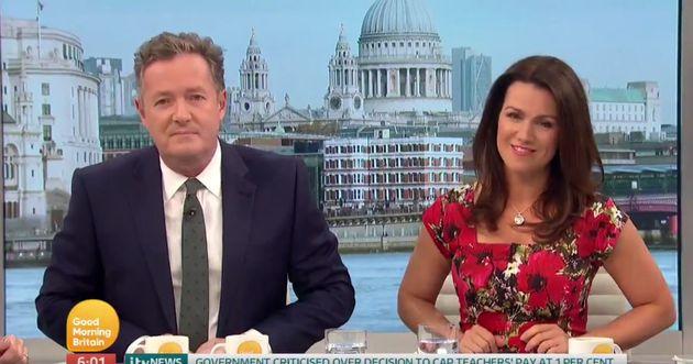 Piers Morgan's ego was dented when Susanna Reid admitted she preferred Bill