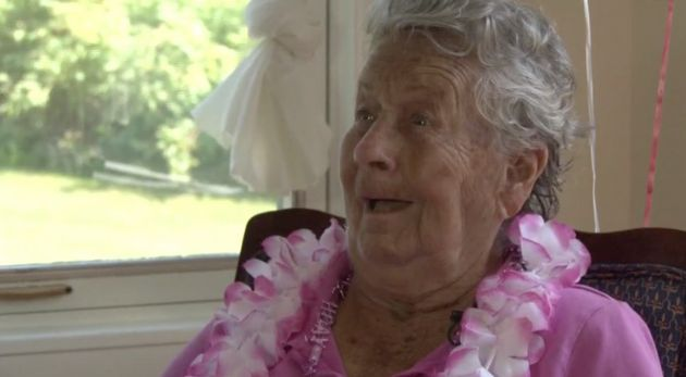 100-Year-Old Woman Says Drinking Decent Wine Is The Key To A Long