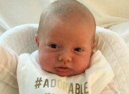 Binky Felstead Shares Adorable New Photo Of Baby India With Brilliant Personalised Bib