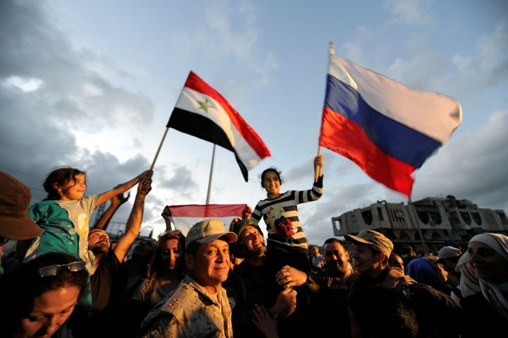 Russian forces have been credited with helping keep the Syrian government in power.