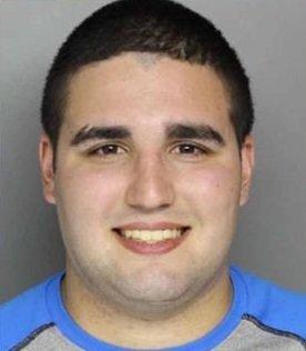Cosmo DiNardo's police booking photo.